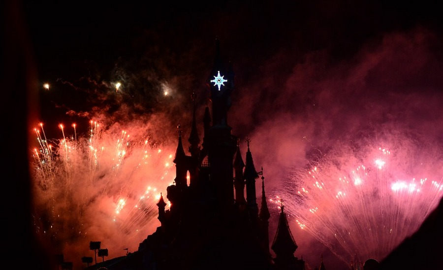 Disney Paris фейверк